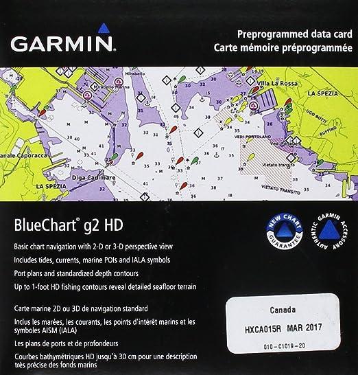 Amazon.com: Garmin BlueChart g2 Canada Salt/Freshwater Map microSD ...