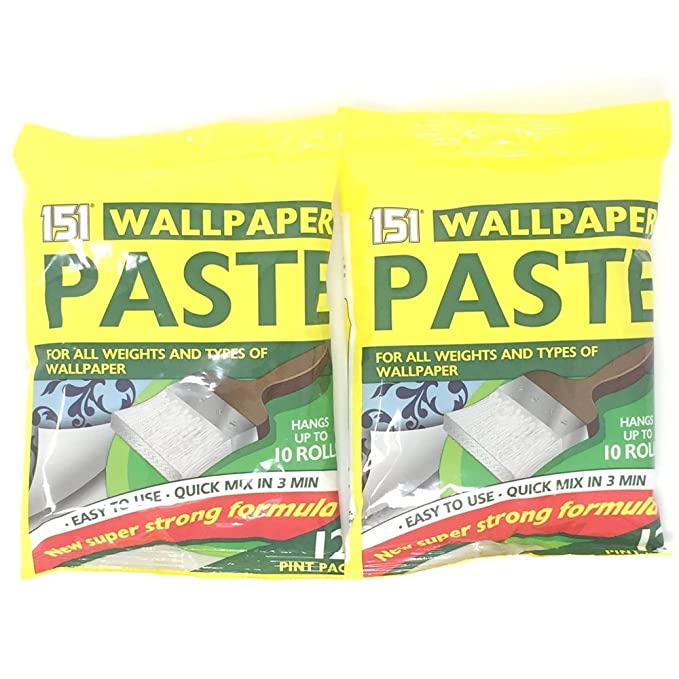 Wallpaper Paste 12 Pint Pack New Super Strong Formula Amazoncouk DIY Tools