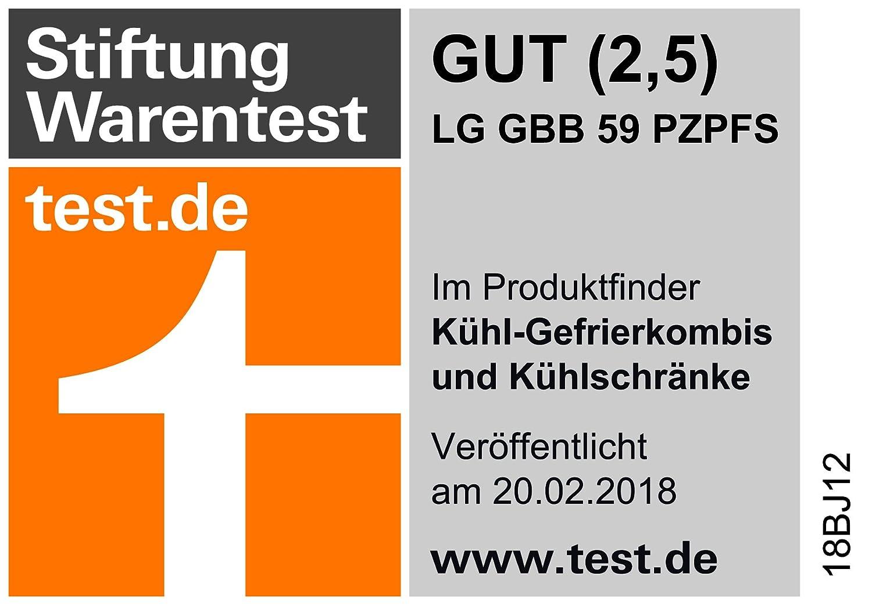 Lg Electronics Gbb 59 Pzpfs Kühl Gefrier Kombination A 174