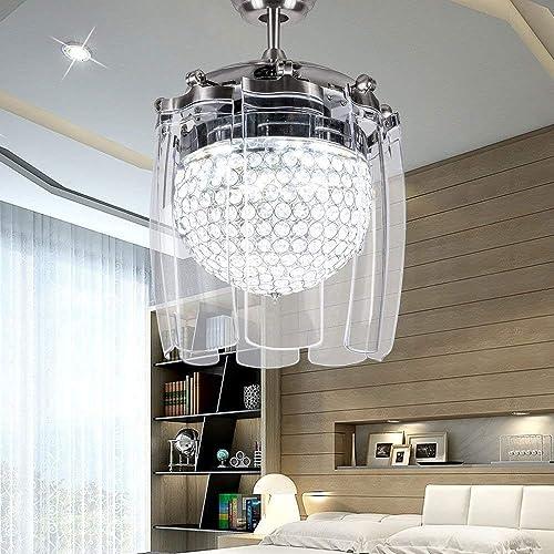 Modern Fandelier 48 Ceiling Fan with Light