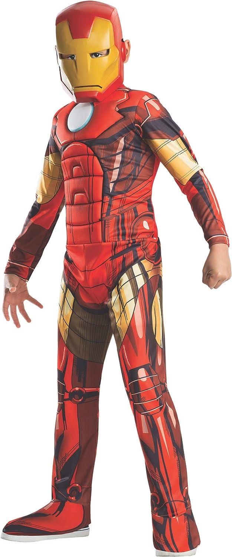 Rubies Marvel Avengers 4 Endgame Iron Man Muscle Chest Halloween Costume S 4-6