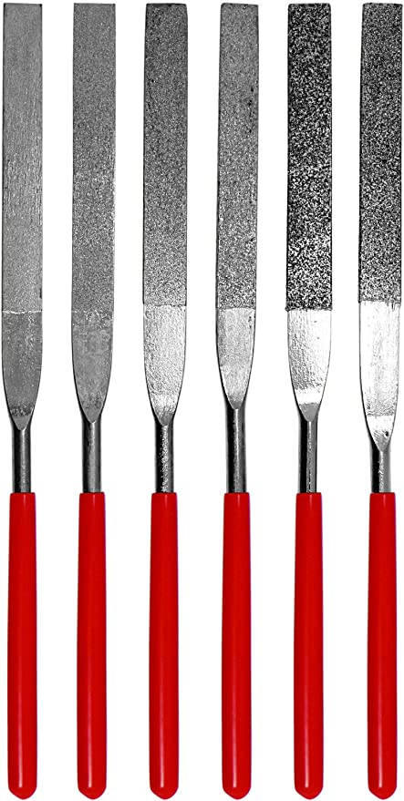 3D Printing Mini Rasp Files very rough fast material removal 6 piece set