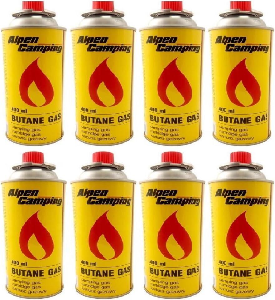 8 Pack Alpen camping gas butano de gas à 227 g Volumen Pro ...