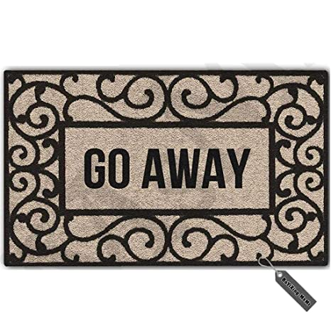 amazon com msmr funny doormat entrance floor mat rectangular go