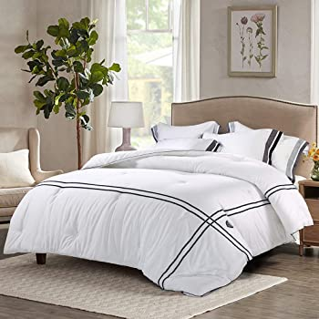 Ingalik All-Season Cotton Bed Striped Comforter