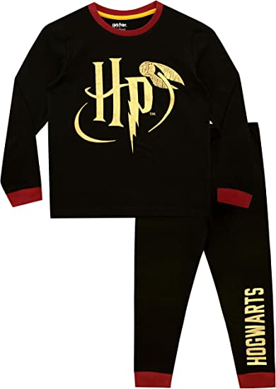 Snuggle Fit Ages 5 to 13 Years Harry Potter Boys Pyjamas