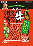 ゴン太 ゴン太のうま味牛とつぶつぶ軟骨入りジャーキー 緑黄色野菜入り 420g