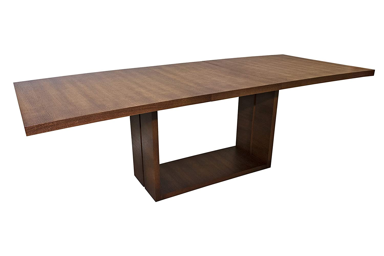 Amazon.com - Madera Dining Table with Extension (Walnut ...