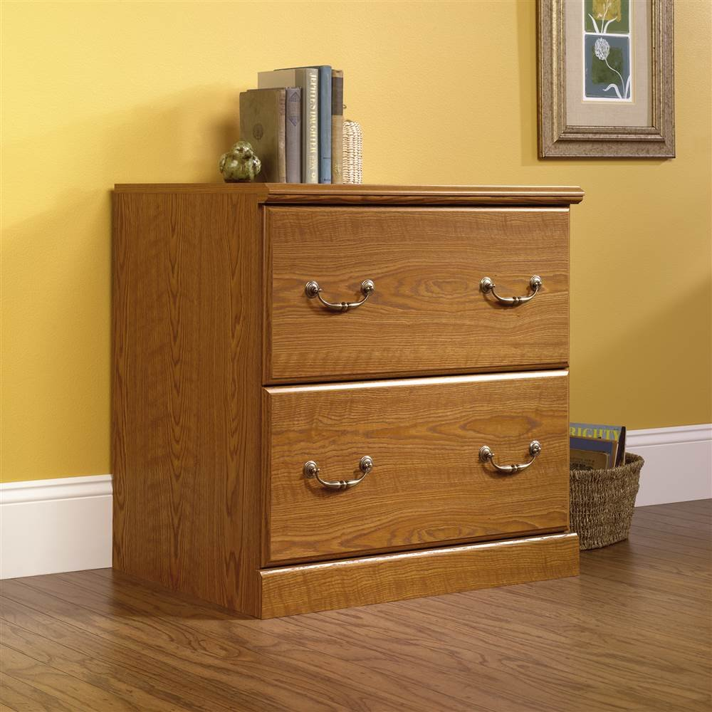 Amazon.com: Sauder Orchard Hills Lateral File, Carolina Oak ...
