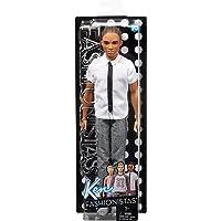Barbie - (Mattel Fnh42) Yakışıklı Ken Bebekler Beyaz Gömlekli