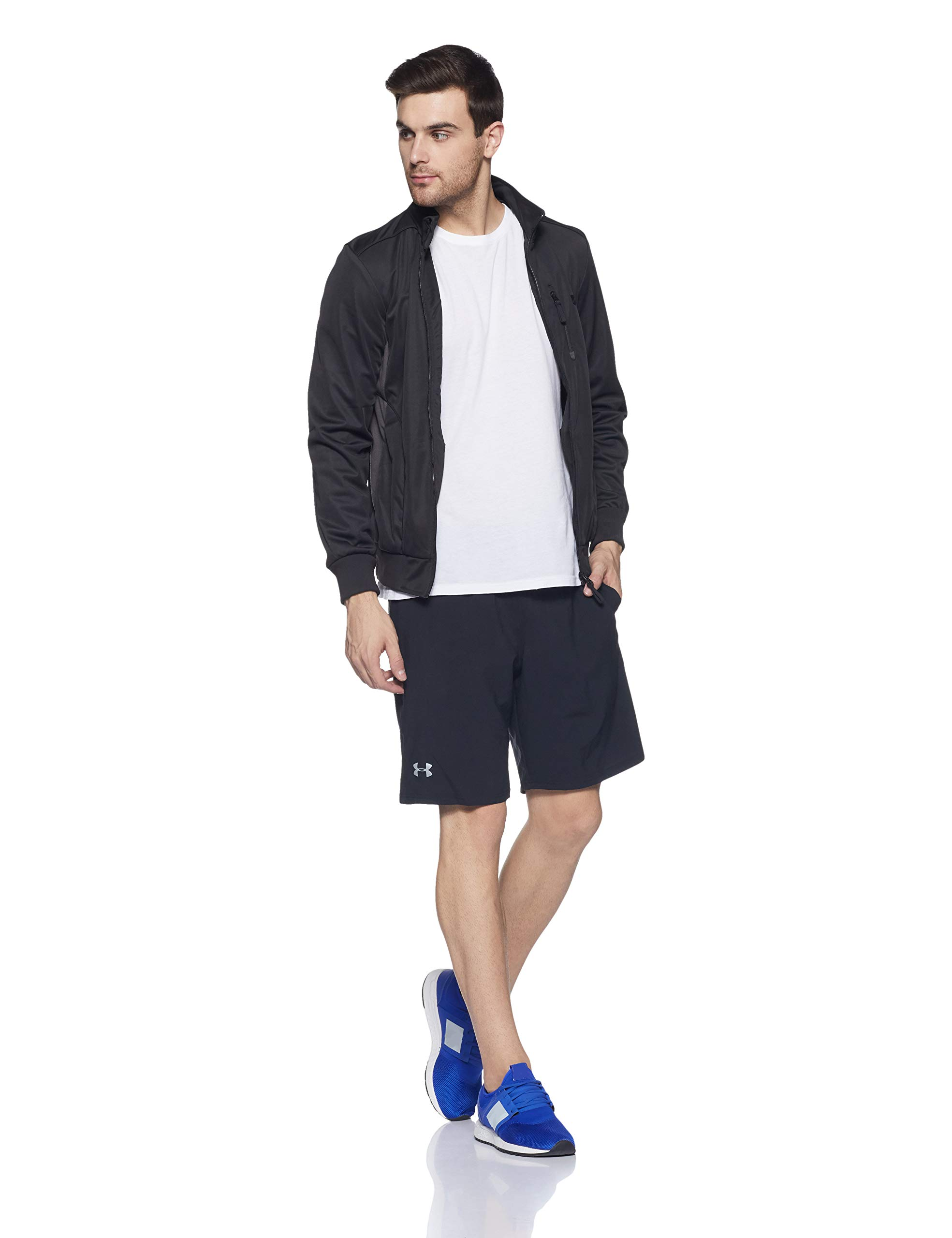 Under Armour Men's Launch 9'' Shorts, Black/Reflective, X-Small by Under Armour (Image #5)