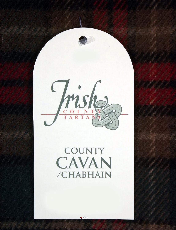 100/% Lambswool Scarf in Irish County Caven Tartan