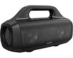 Anker Soundcore Motion Boom Outdoor Speaker with Titanium Drivers, BassUp Technology, IPX7 Waterproof, 24H Playtime, Soundcor