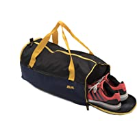 Mufubu Presents Get Unbarred Mens Travel kit Carry on Luggage Handbag for Sports, Gym Flight Cabin 32 LTR Bag with Shoe Compartment