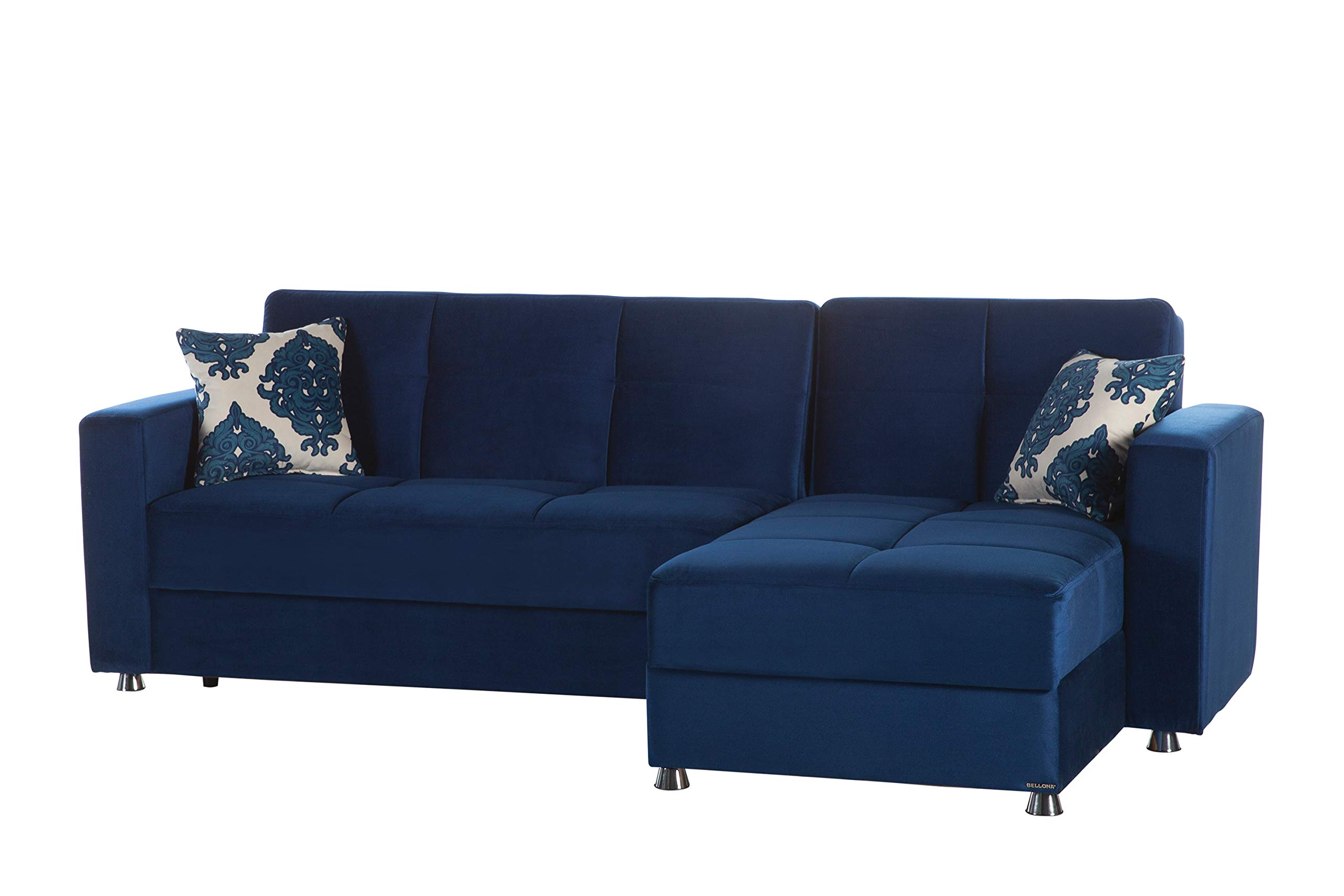 ISTIKBAL Multifunctional Furniture ELEGANT Collection (Sectional Sofa) ROMA NAVY -  - sofas-couches, living-room-furniture, living-room - 71yCaDFPpNL -