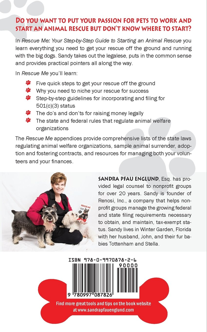 rescue me your step by step guide to starting an animal rescue
