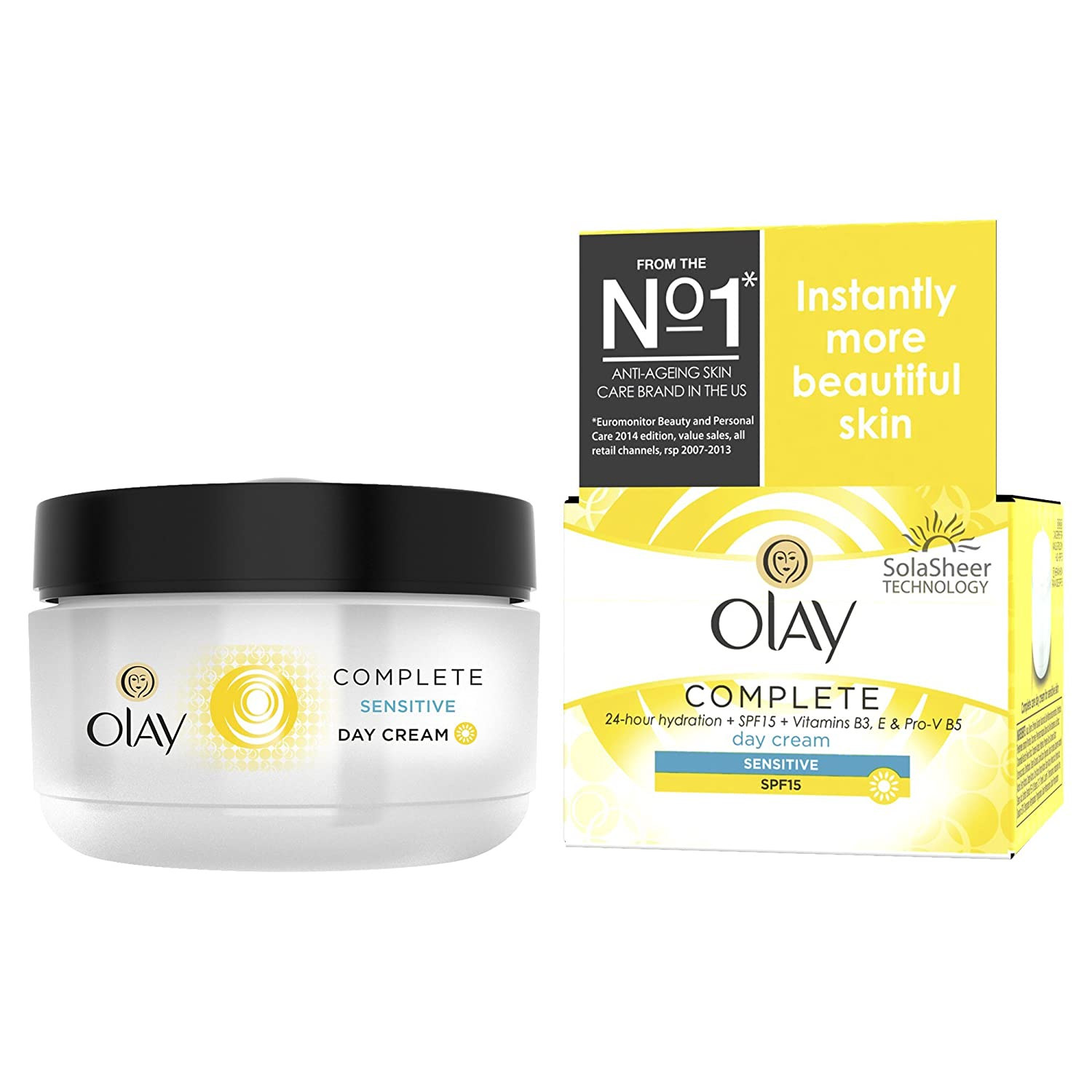 Olay SPF15 Complete 3 in one Moisturiser Day Cream Sensitive, 50 ml Procter & Gamble 100766767