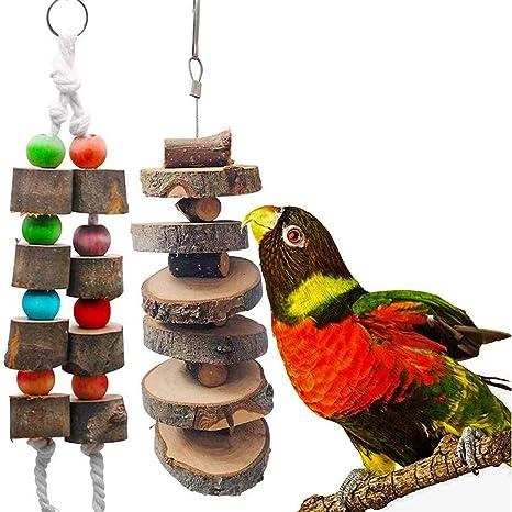 Hanging BIRD TOY  Noisy Fun!