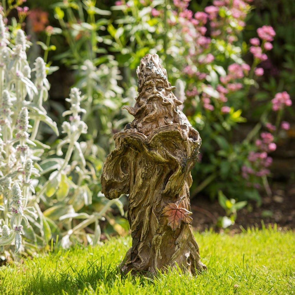 Treeman Spiritual Resin Stone Effect Small Garden Statue/Ornament:  Amazon.co.uk: Garden U0026 Outdoors