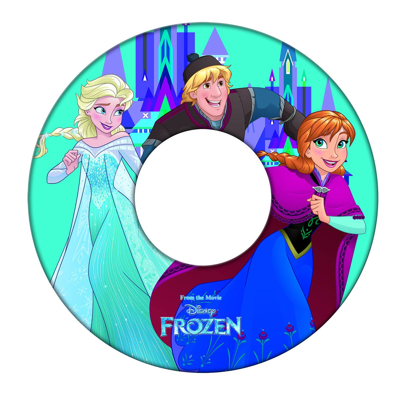 GIM - Disney Princess Frozen Flotador Hinchable bajo ...