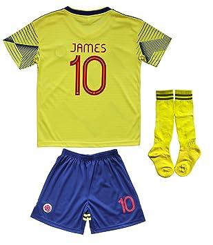 Amazon.com: Kid Box Colombia 2018 James Rodriguez # 10 casa ...