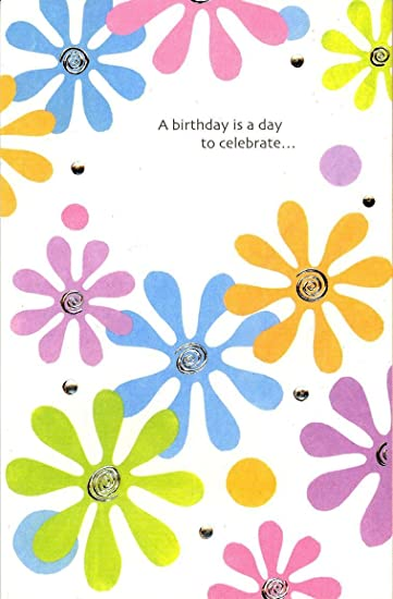Amazon Colorful Birthday Cards With Foil And Embossed Assorted