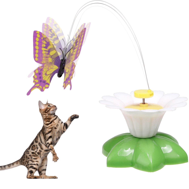 Befied Katzenspielzeug Funny Butterfly fliegender schmetterling ...