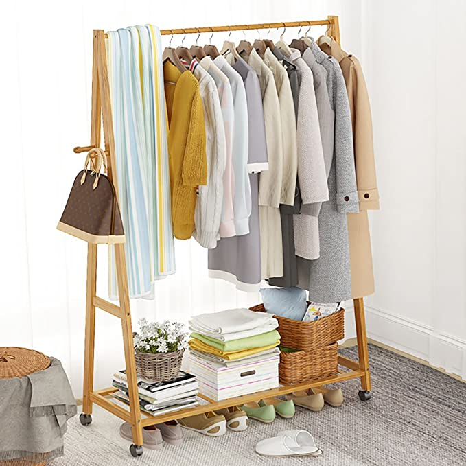 Amazon.com: Floor/Coat Rack, Bedroom/Hanging Clothes Hange ...