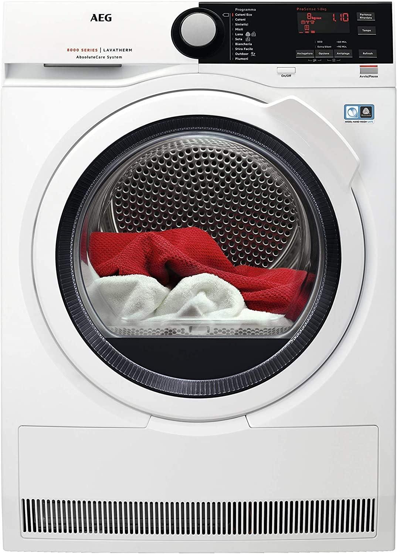 AEG T8DBE85 La migliore asciugatrice a pompa di calore ecologica