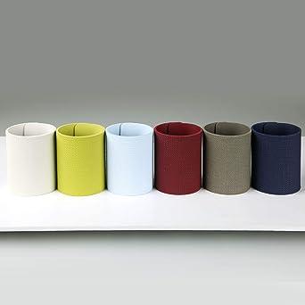 DAG Style, Pack 6 anillos de servilleta colores variados ECO JUTA colores CELESTE, ICE, VERDE, AZUL, BURDEOS, GRIS: Amazon.es: Industria, empresas y ciencia