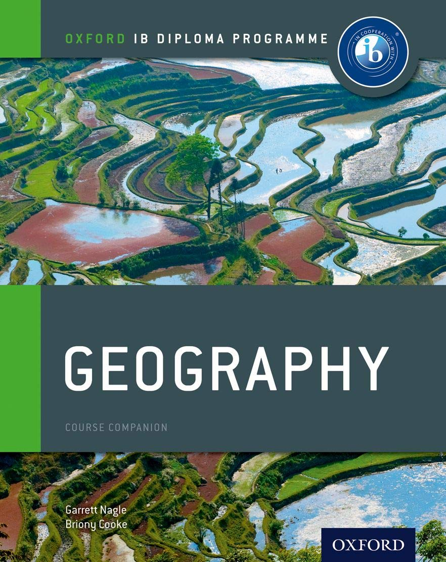 IB Geography Course Book  Oxford IB Diploma Programme