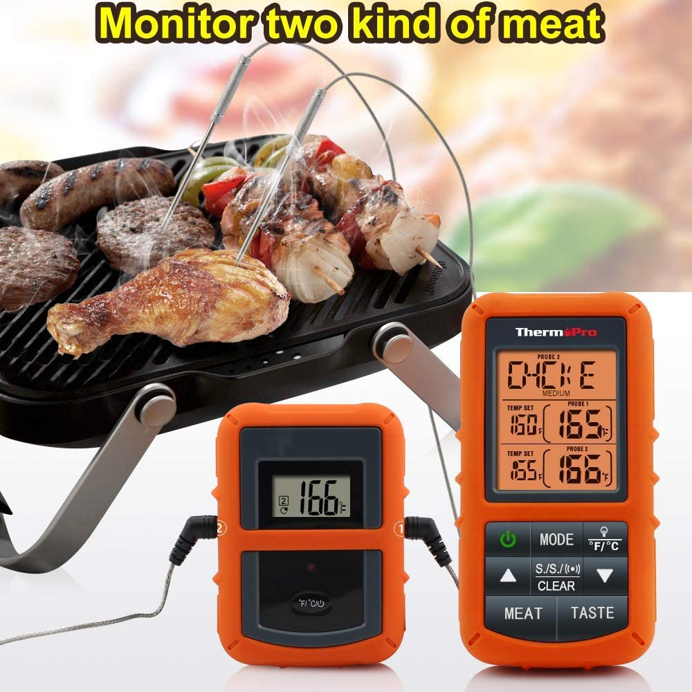 Funk GrillthermometerBraten ThermometerFleischthermometer BBQ Smoker Grill