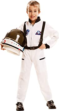 My Other Me Me-202084 Disfraz de astronauta, color blanco, 7-9 ...