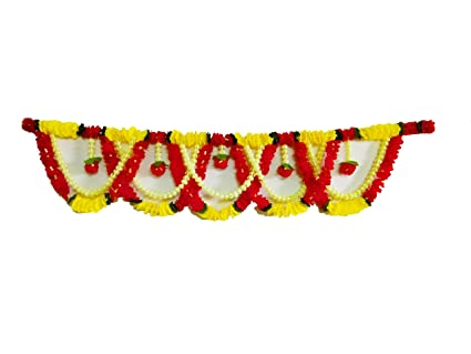 AFARZA Artificial Flower Garland for Home Decoration, for Main Door Hanging