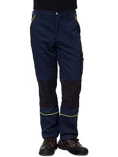 TMG® Pantalon Trabajo Hombre Resistente Tallas | con ...