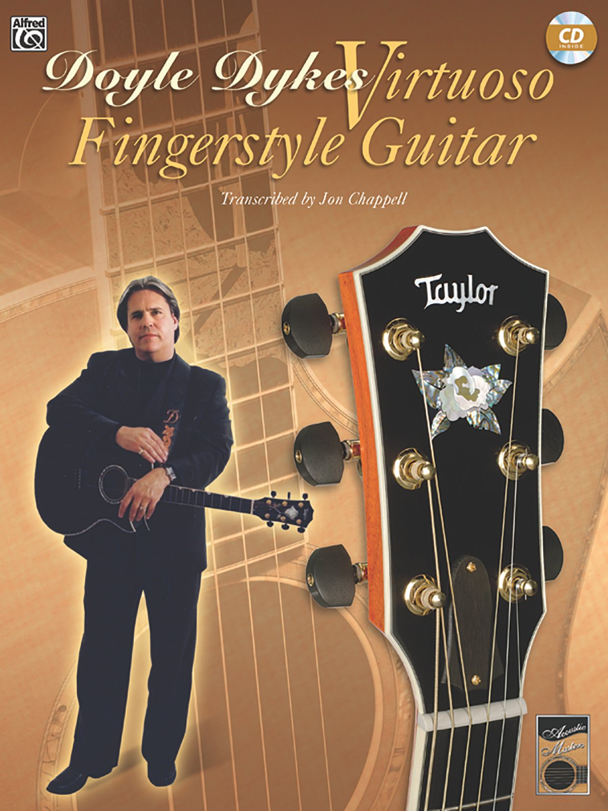 Download Acoustic Masters: Doyle Dykes Virtuoso Fingerstyle Guitar, Book & CD (Acoustic Masters Series) pdf epub