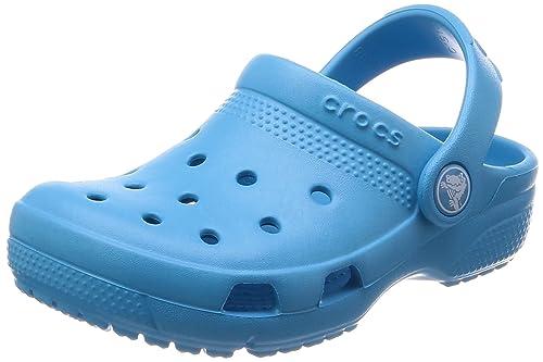 81685c86ec05 crocs Unisex Kids Coast Clogs K Electric Blue  Amazon.in  Shoes ...