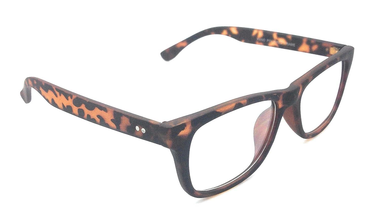 MyUV Unisex Eyeglass Translucent Simple Design No Logo Clear Lens Glasses