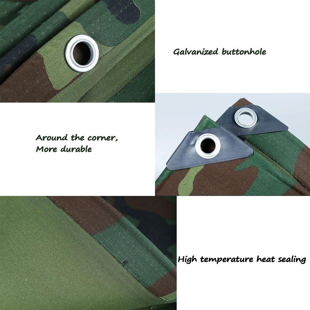 LQQGXL Camouflage-Segeltuch-Starke Wasserdichte Überdachung im Freien-Sonnenschutz-LKW-Plane-Isolierung abnutzungsBesteändig Anti-Altern Wasserdichte Wasserdichte Wasserdichte Plane B07J4Z232B Zeltplanen Niedrige Kosten 66b509