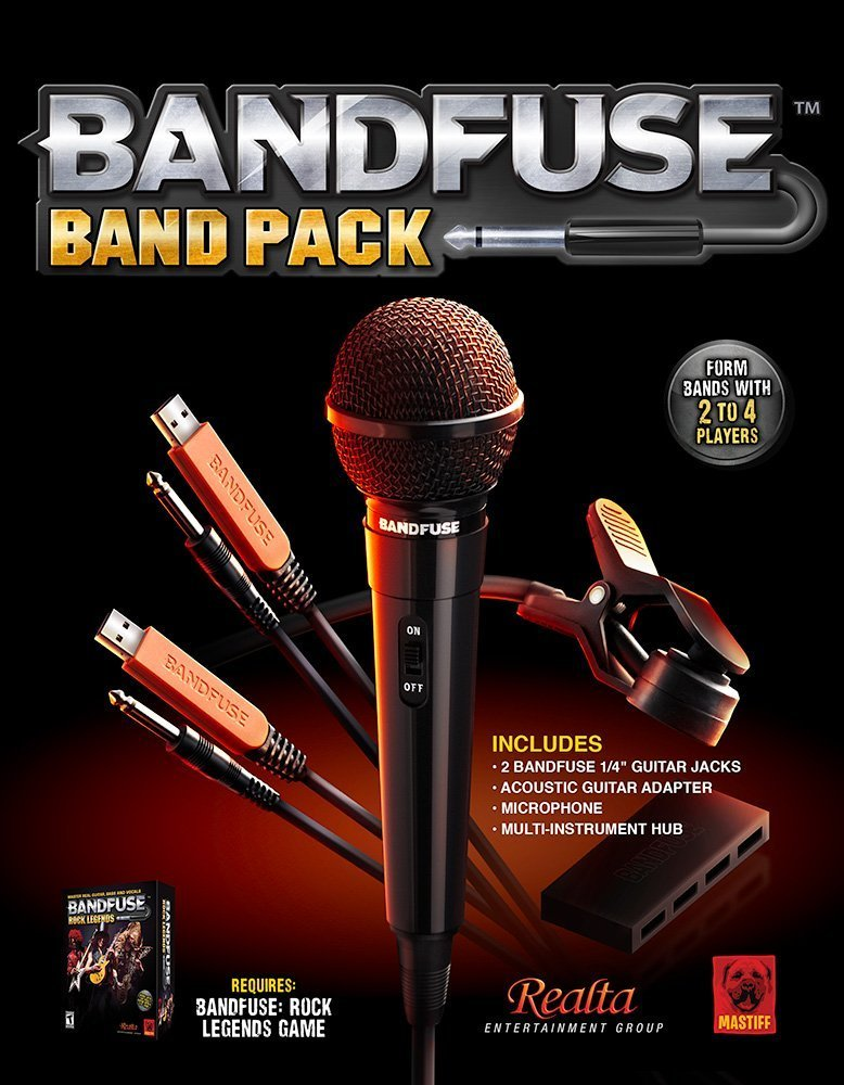 BandFuse: Rock Legends (Band Pack) - PS3 & Xbox 360 ... on