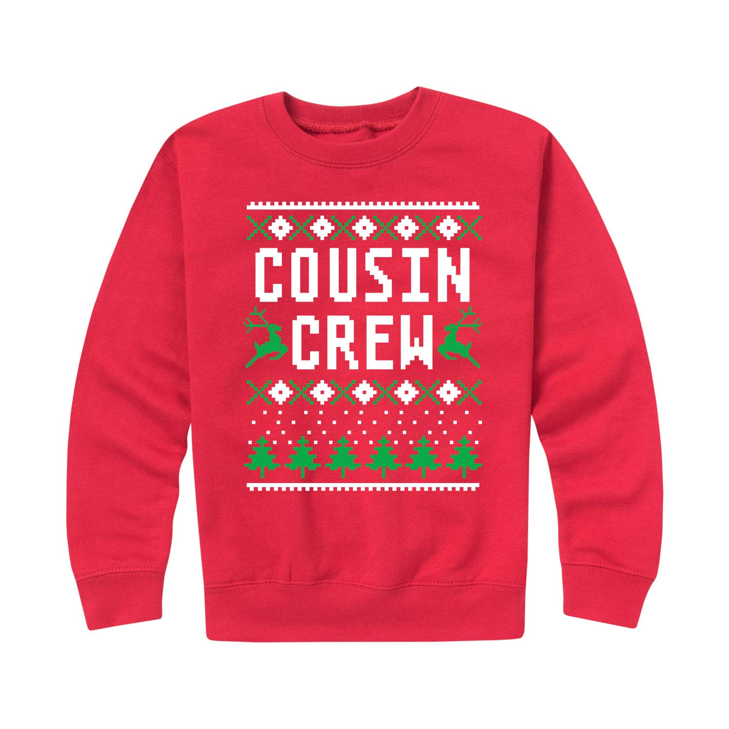 Cousin Crew Ugly Style - Toddler Crew Fleece Air Waves
