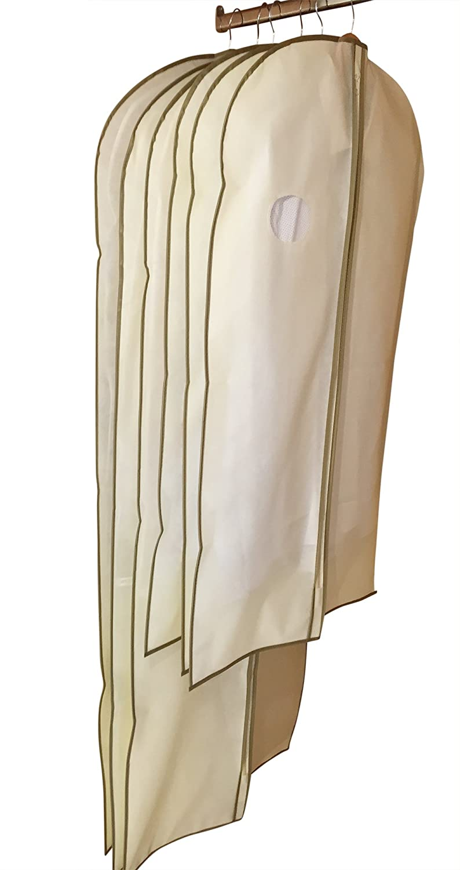 Kleidersack Staubbeutel by dryzem 6 Stü ck Bezü ge atmungsaktiv fü r Anzü ge, Hemden, Kleider und Kleider 2 Jahre Garantie CAJCOM Ltd