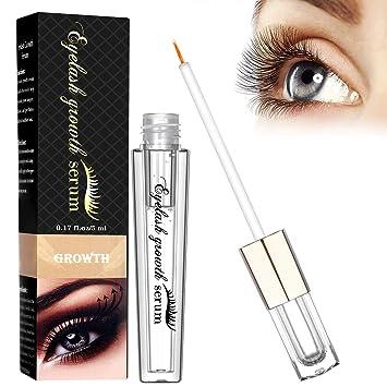 ab8cd6e07cf Eyelash Growth Serum, Eyelash Growth Enhancer & Eyebrow Serum for Long,  Luscious Lashes and