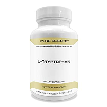 Pure Science L-triptófano 500 mg - 100 cápsulas vegetarianas ...
