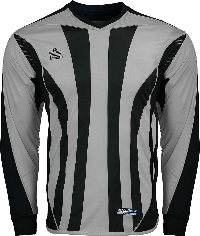 Silver Black Adult Large Admiral Bayern Goalkeeper Jersey