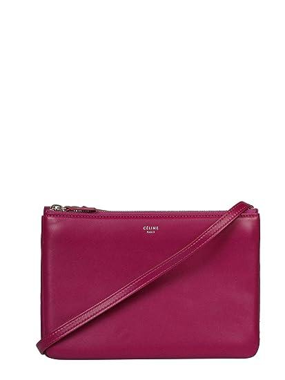 0e4b3c92d0 Céline Women s 165113Eta33gp Burgundy Leather Shoulder Bag  Amazon.co.uk   Clothing