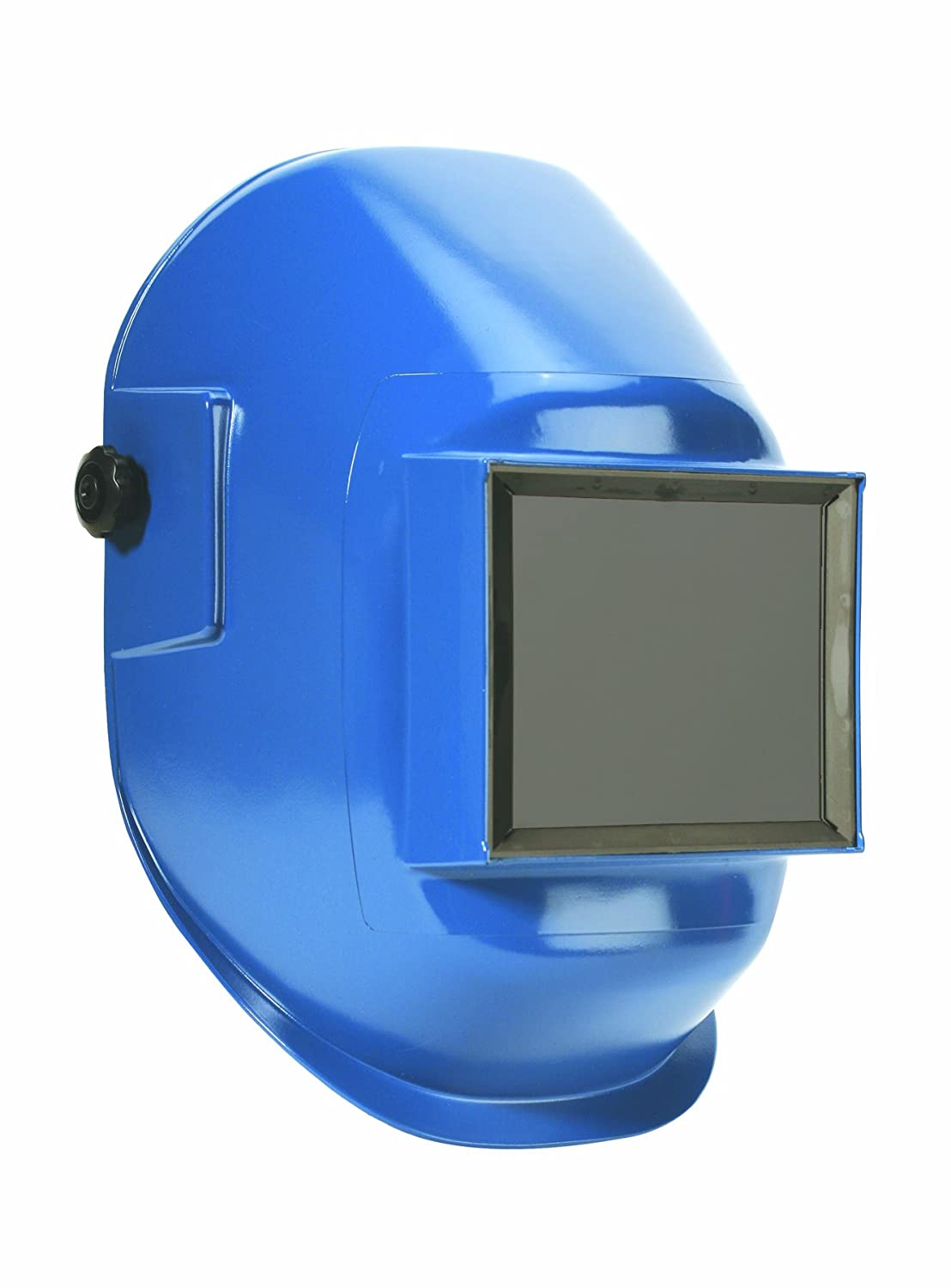 Sellstrom 29371 Nylon Red Coated Welding Helmet with 4-1//4 Width x 2 Height Sel-Snap Lift Front