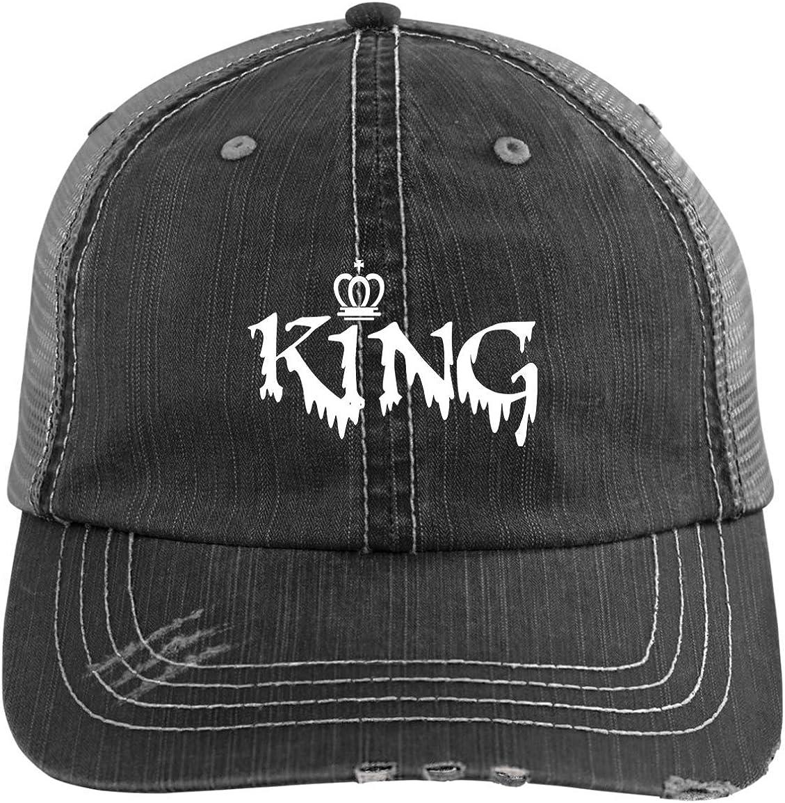 King Hats Matching Snapbacks Hip Hop