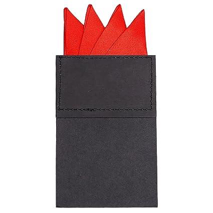 DonDon pañuelo para hombres ya doblado para asiento perfecto color ...