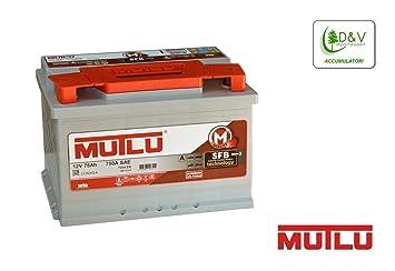 Mutlu Premium Auto Batterie 75ah 100 Ah 900 A 12 V